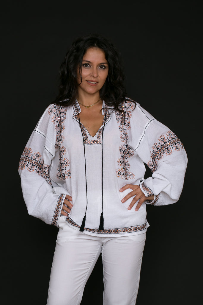 Cora Blouse by Anda Ene/SC Sanctus Authentica SRL (ROMANIA)