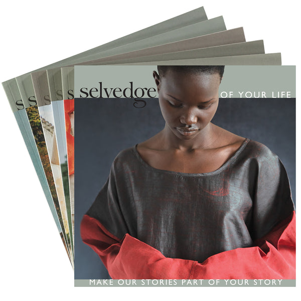 Paper Subscription to Selvedge Magazine