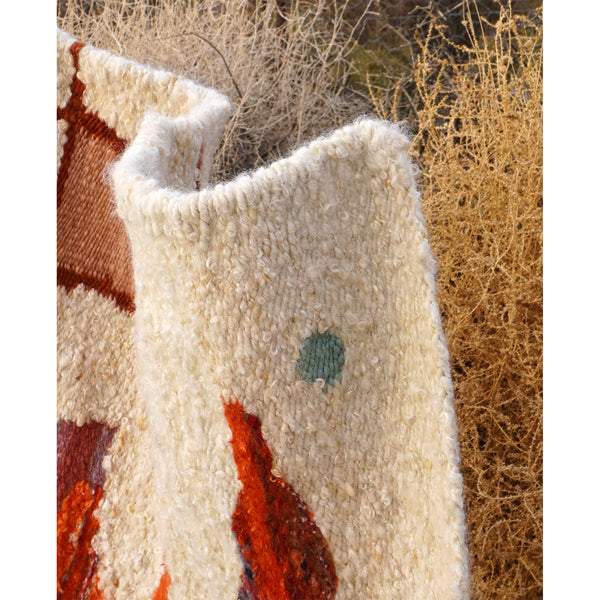 South Africa, Frances V.H, Mohair Rug 'The Original Sundance Kid'