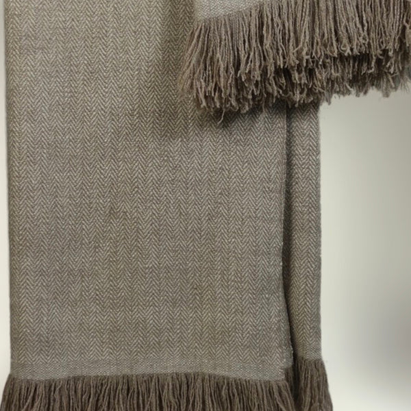 Gujjar Cashmere throw by Kashmir Loom (INDIA)