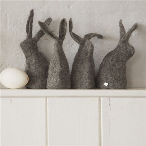 Hut Up, Little Rabbit Felt Egg Cosy - Selvedge Magazine - 1