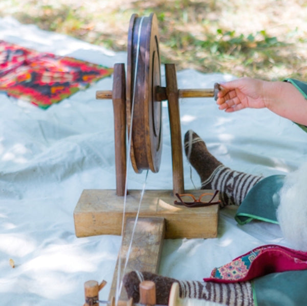Saturday 5 September 2020, 12-2pm BST, Wool Spinning and Tapestry, Virtual Workshop, with Goris WDRCF (Armenia)