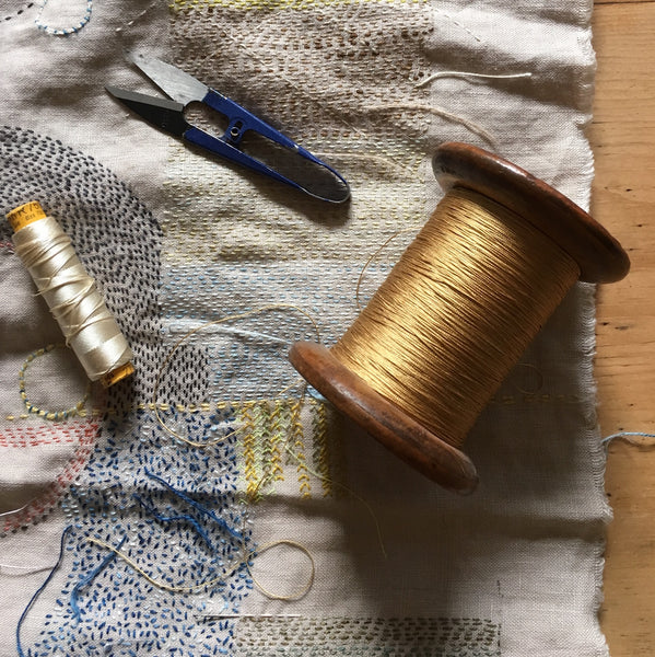 7 November 2020, Slow Stitching with Claire Wellesley-Smith