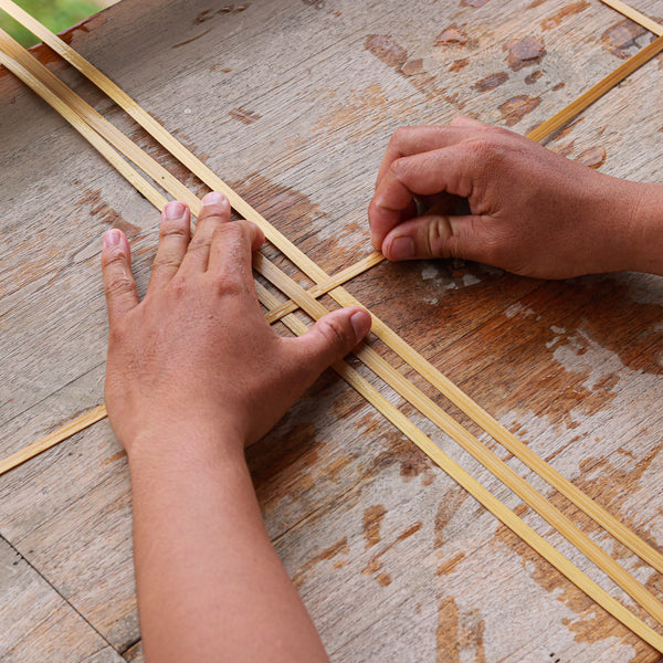 Saturday 5 September 2020, 9-11am BST, Bamboo Weaving, Virtual Workshop with Ock Pop Tock (Laos)