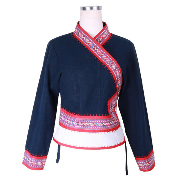 Tai Lue 12 Pana Cotton Jacket by Ock Pop Tok (LAOS)