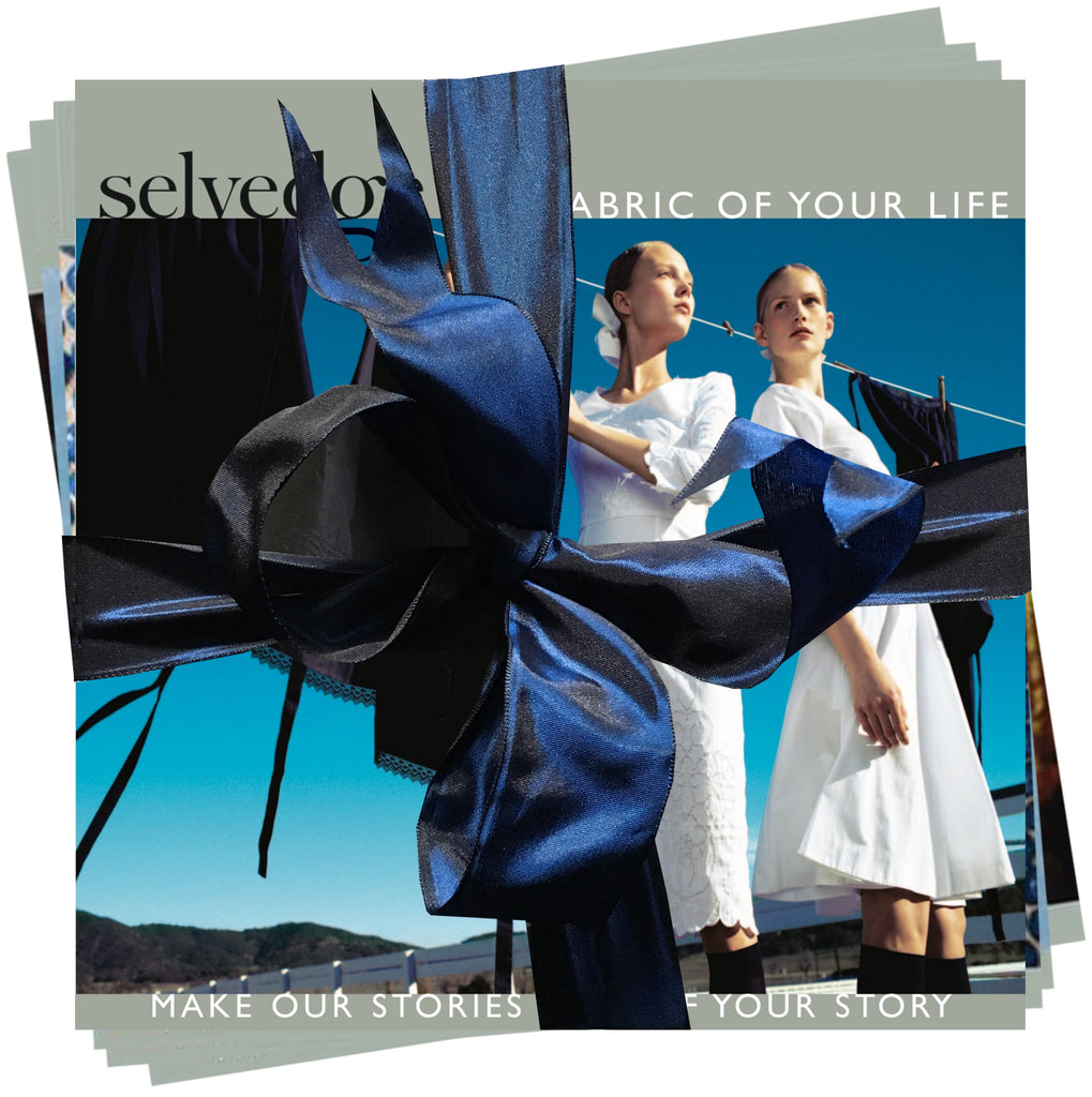 Selvedge Magazine January Blue Collection