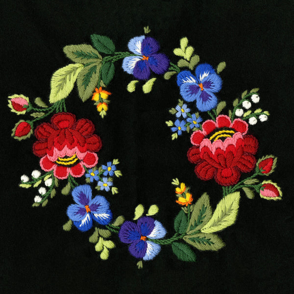 6 December 2020, Swedish Påsöm Embroidery, Virtual Workshop with Anna-Karin Jobs Arnberg