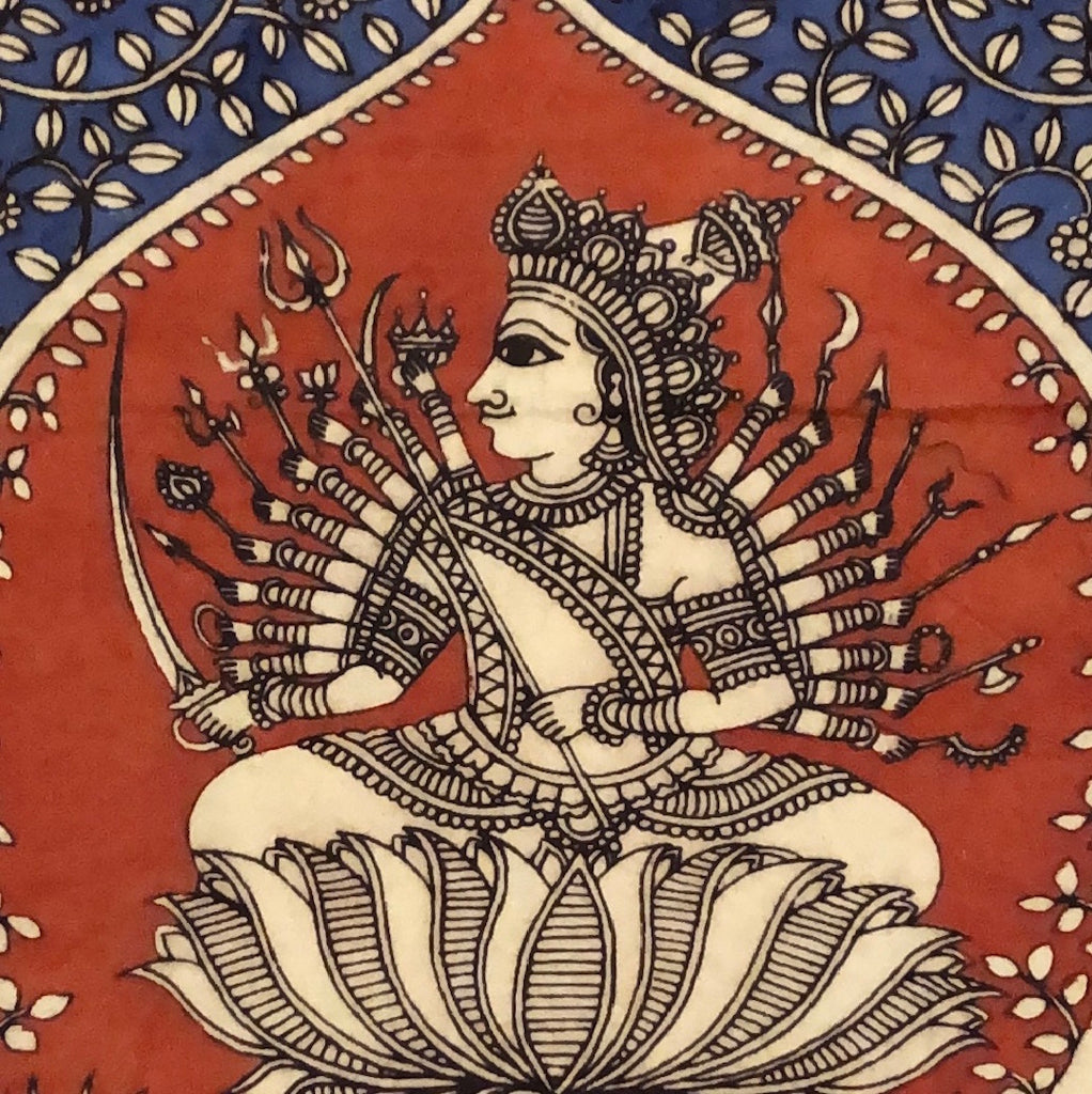 5 September, 12-2pm BST, Mata-ni-Pachedi Craft, Virtual Workshop with Kirit Chitara (India)