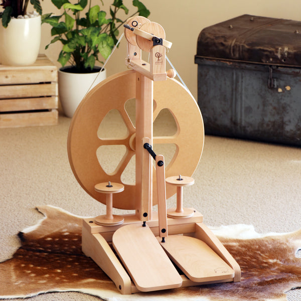 12 Days of Christmas 2018: Ashford Spinning Wheel - Selvedge Magazine