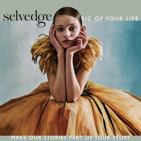 Issue 73 Decorative - Selvedge Magazine