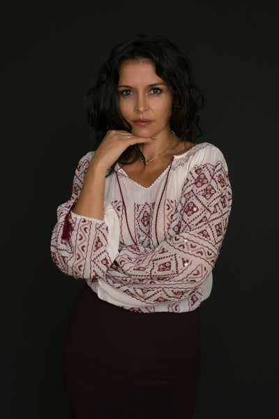 Laura Blouse by Anda Ene/SC Sanctus Authentica SRL (ROMANIA)