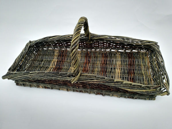 Long Flower Trug by Hilary Burns (ENGLAND)