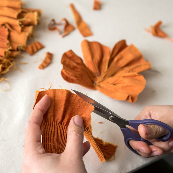 9 November 2019, Silk Flower Making with Lora Avedian, London UK - Selvedge Magazine