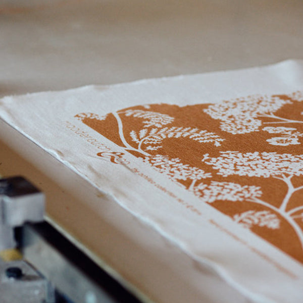 16 May 2020, Natural Dye Screen Printing with Nicola Cliffe