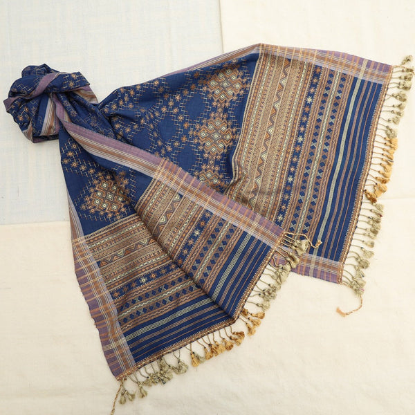 Master design Stole by Siju Shamji Vishram (INDIA)