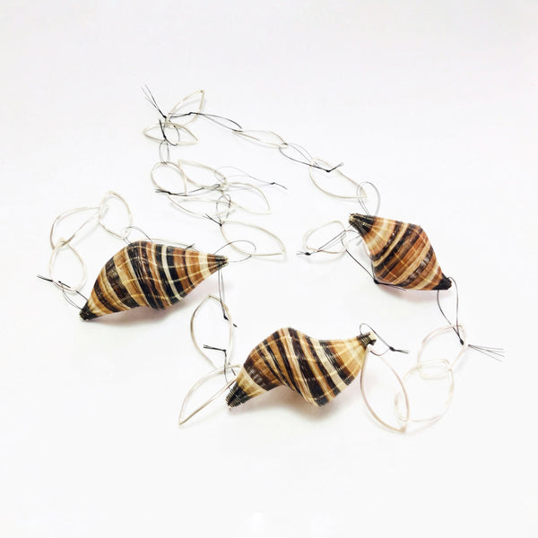Chile, Rita Soto, Snail Necklace