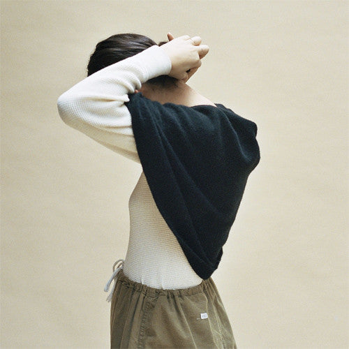 Cecilie Telle, Poncho, Round - Selvedge Magazine