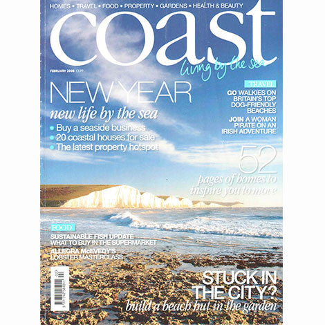 Coast Magazine, September 2008 - Selvedge Magazine