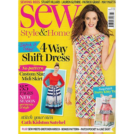 Sew Style & Home, May 2016