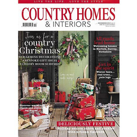 Country Homes & Interiors, December 2015 - Selvedge Magazine