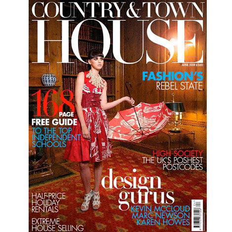 Country & Town House, March 2009 - Selvedge Magazine
