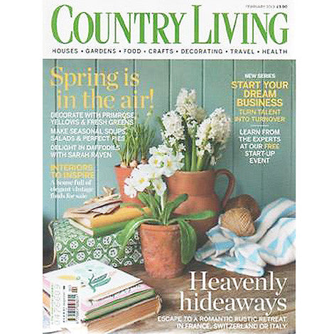 Country Living, February 2009 - Selvedge Magazine
