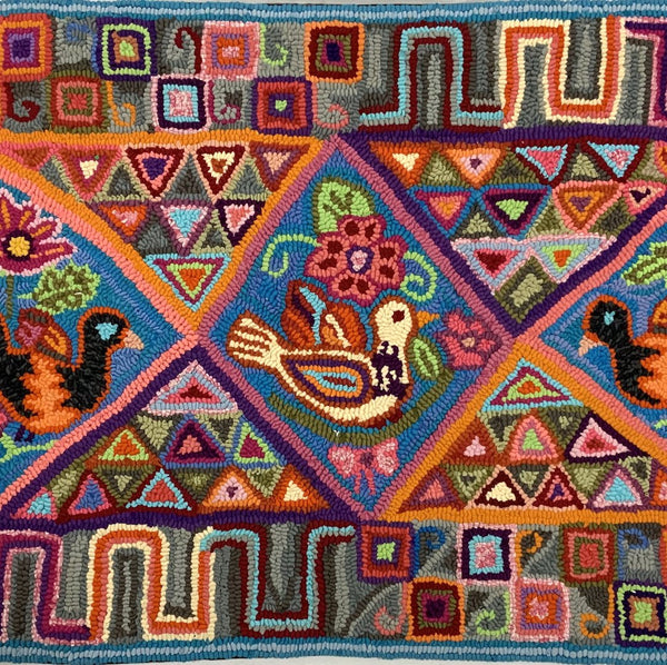 Saturday 20 & Sunday 21 February 2021, Rug Hooking, Virtual Workshop with Multicolores from Guatemala