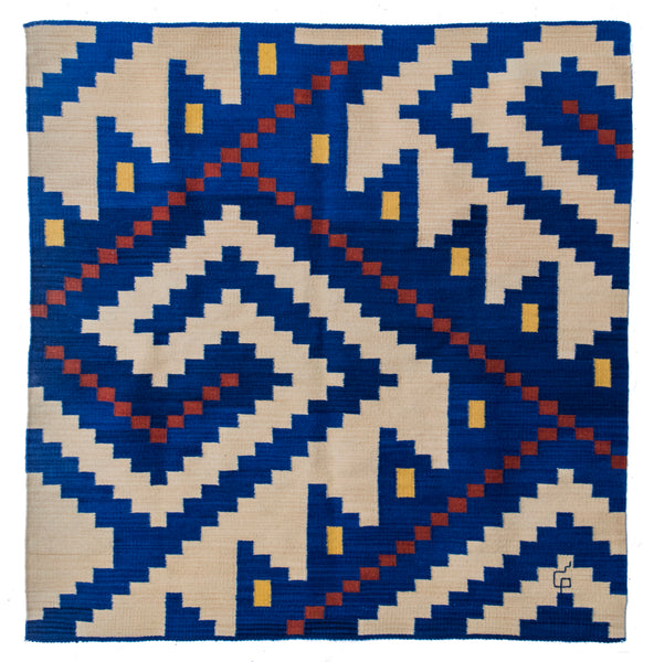 Journey Series SB1 Rug / Wall Hanging by Porfirio Gutierrez (Mexico)