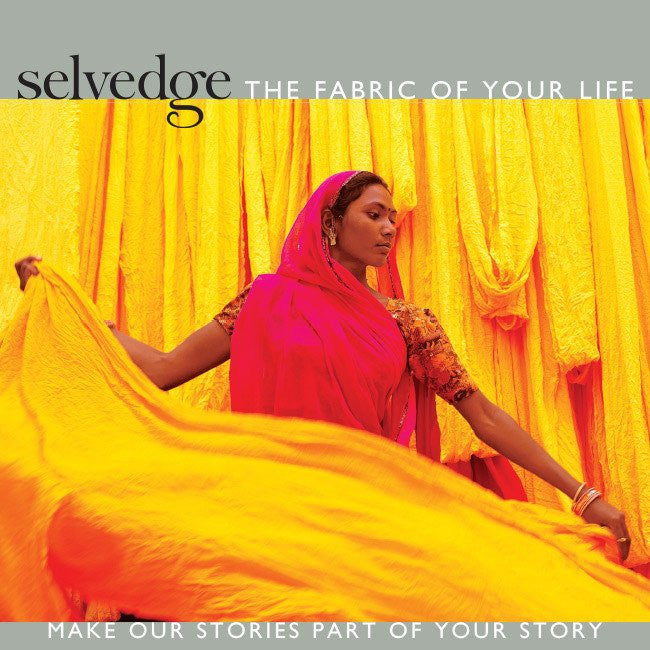 Cover images - Selvedge Magazine