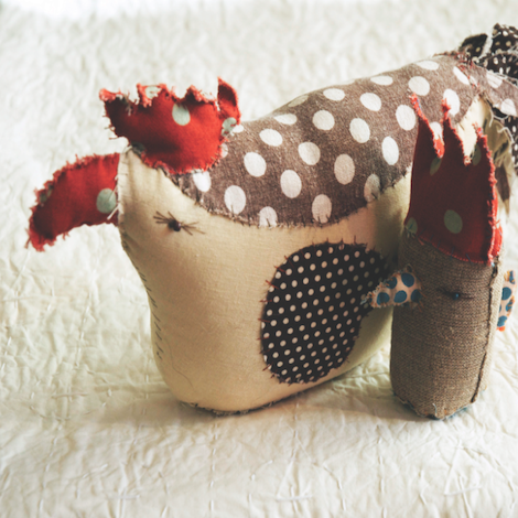 How to make your own easter chick - Selvedge Magazine