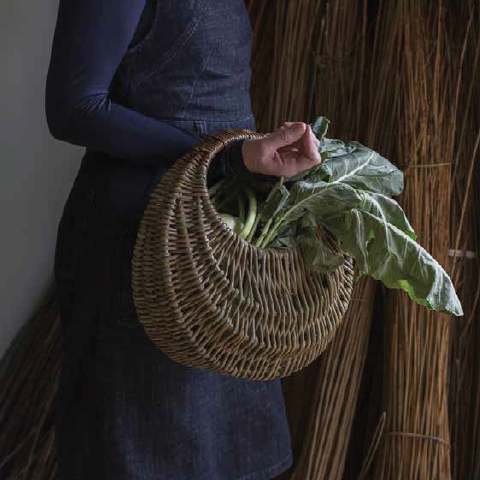 How to make a gathering basket - Selvedge Magazine