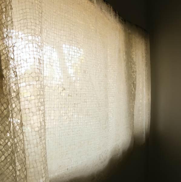 South Korea, Oma Space, Hanji Curtain
