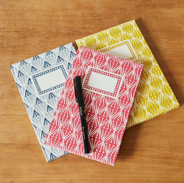 The Selvedge Notebook by Cambridge Imprint (Available in three colourways)