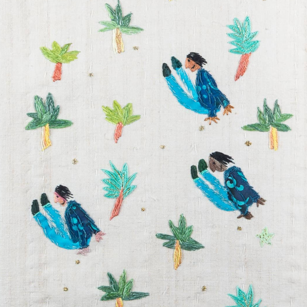 25 April 2020, Art of Stitching a Story with Gina Ballinger - Selvedge Magazine