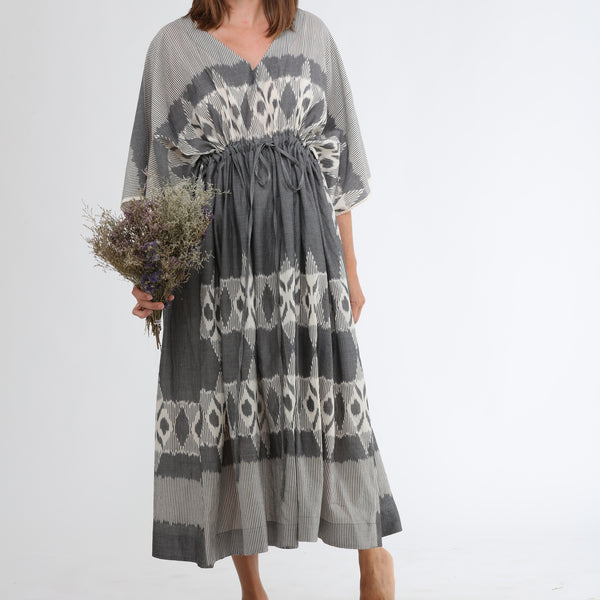 India, Translate Handwoven Ikat, Traverse Relaxed Dress