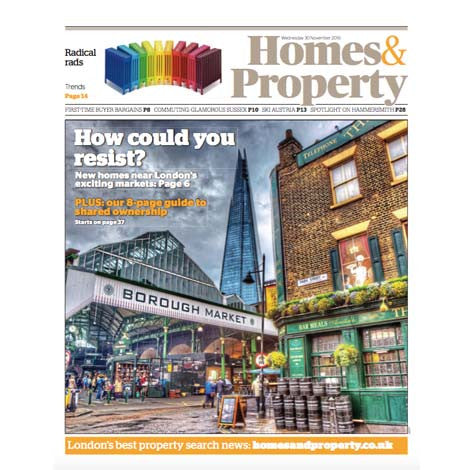 Evening Standard Homes & Property, November 2016 - Selvedge Magazine