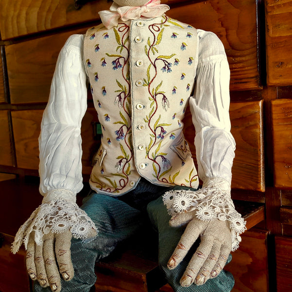 22-29 August 2020, Susie Vickery, Making Historic French Mannequins - Selvedge Magazine