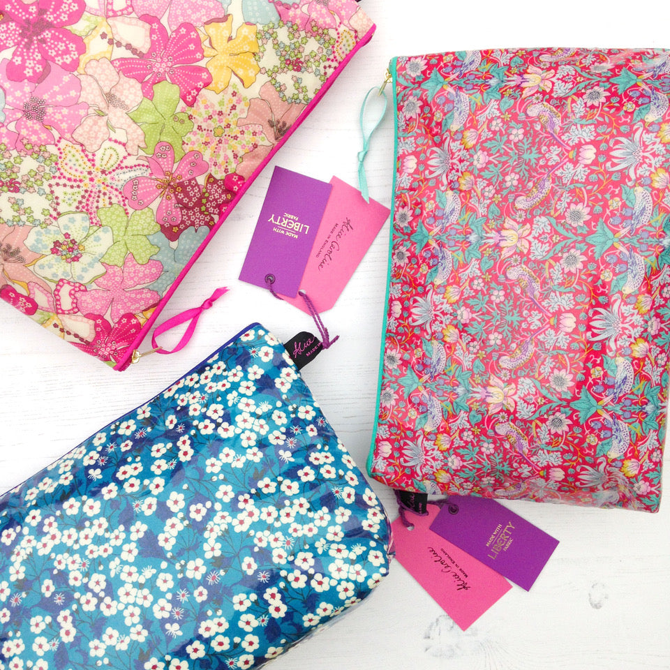New Subscriber Gift: Liberty Wash Bags