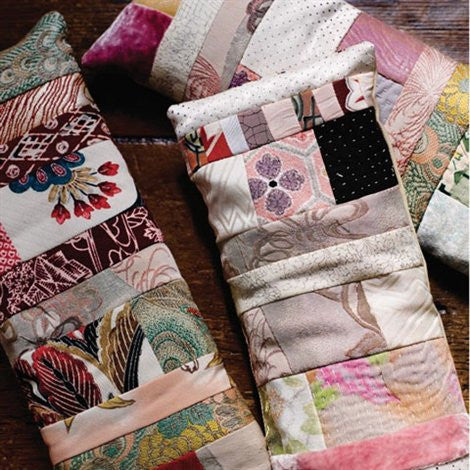 How to make silk scrap wheat bags - Selvedge Magazine