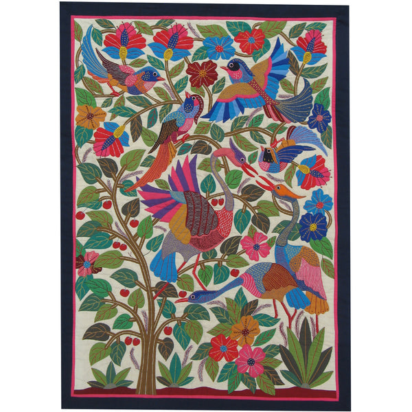 Tree of Life Wall Hanging by Esam Ali, Tentmakers of Cairo (Egypt)