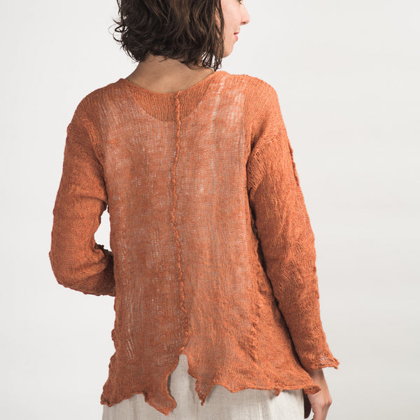 Cara May Knits, Wabi Sabi Pull - Selvedge Magazine