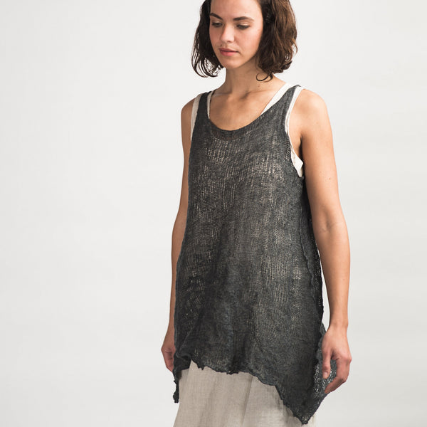 Cara May Knits, Wabi Sabi Vest - Selvedge Magazine