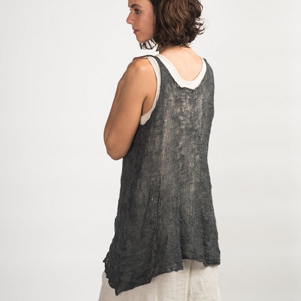 Cara May Knits, Wabi Sabi Vest