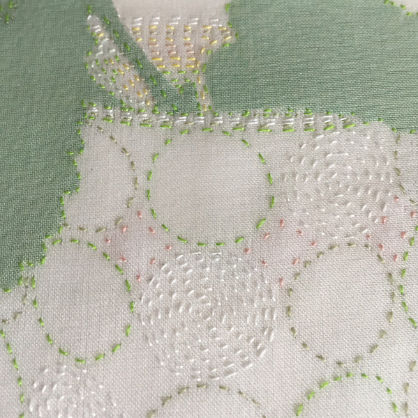 22 & 23 August 2020, Silk Organza Appliqué, Virtual Workshop with Emily Jo Gibbs