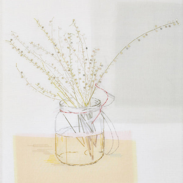22-29 August 2020, Emily Jo Gibbs, Illustrative pictures: Working with Silk Organza and Hand Stitch