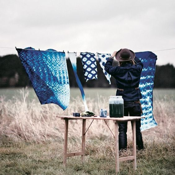 How to make Itajime Shibori - Selvedge Magazine
