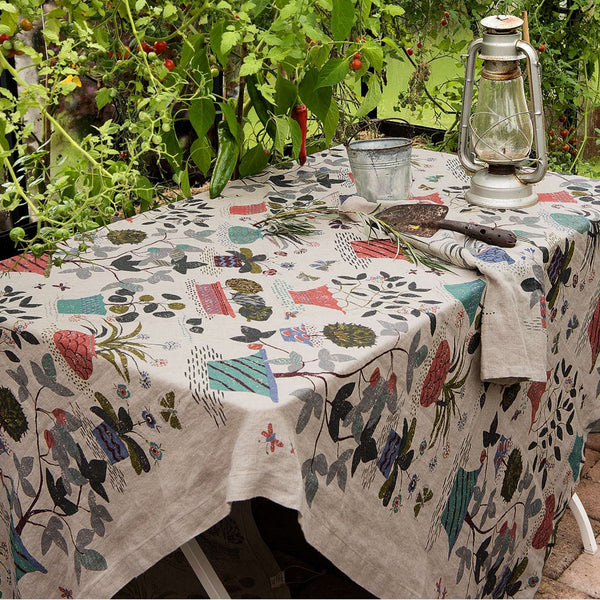 Trädgårdsliv Table Cloth by Gudrun Sjödén (3 year subscriber gift)