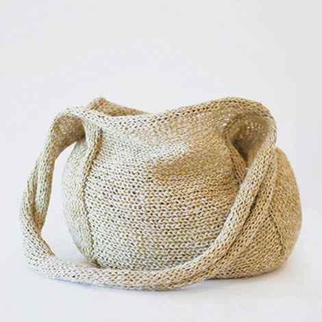 How to make a knitted bag - Selvedge Magazine
