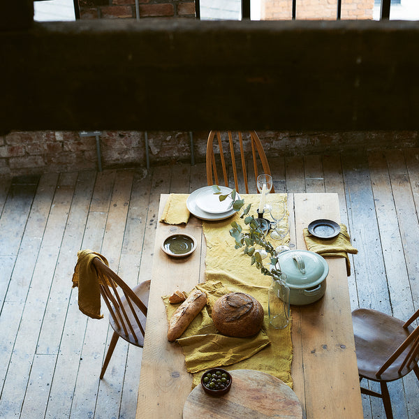 How to dye table linen - Selvedge Magazine