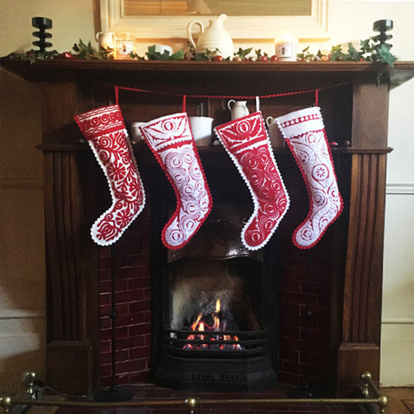 How to make a felt stocking